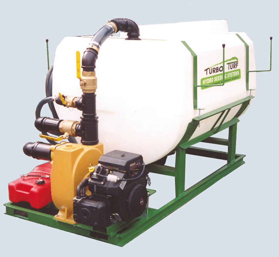 HS-500-XPW Turbo Turf HydroSeeder Skid type unit