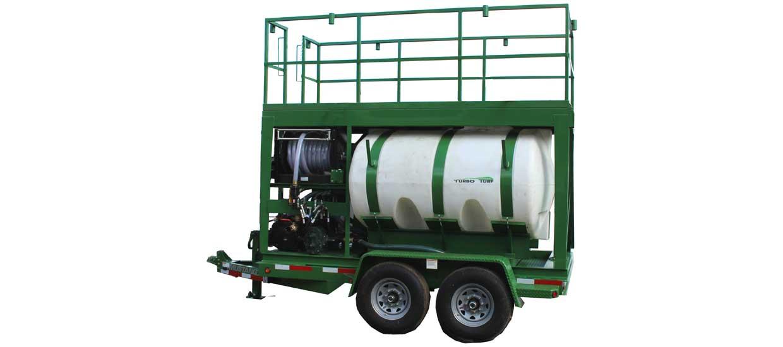turbo Turf's HM-1000-HARV 1000 gallon hydroseeder