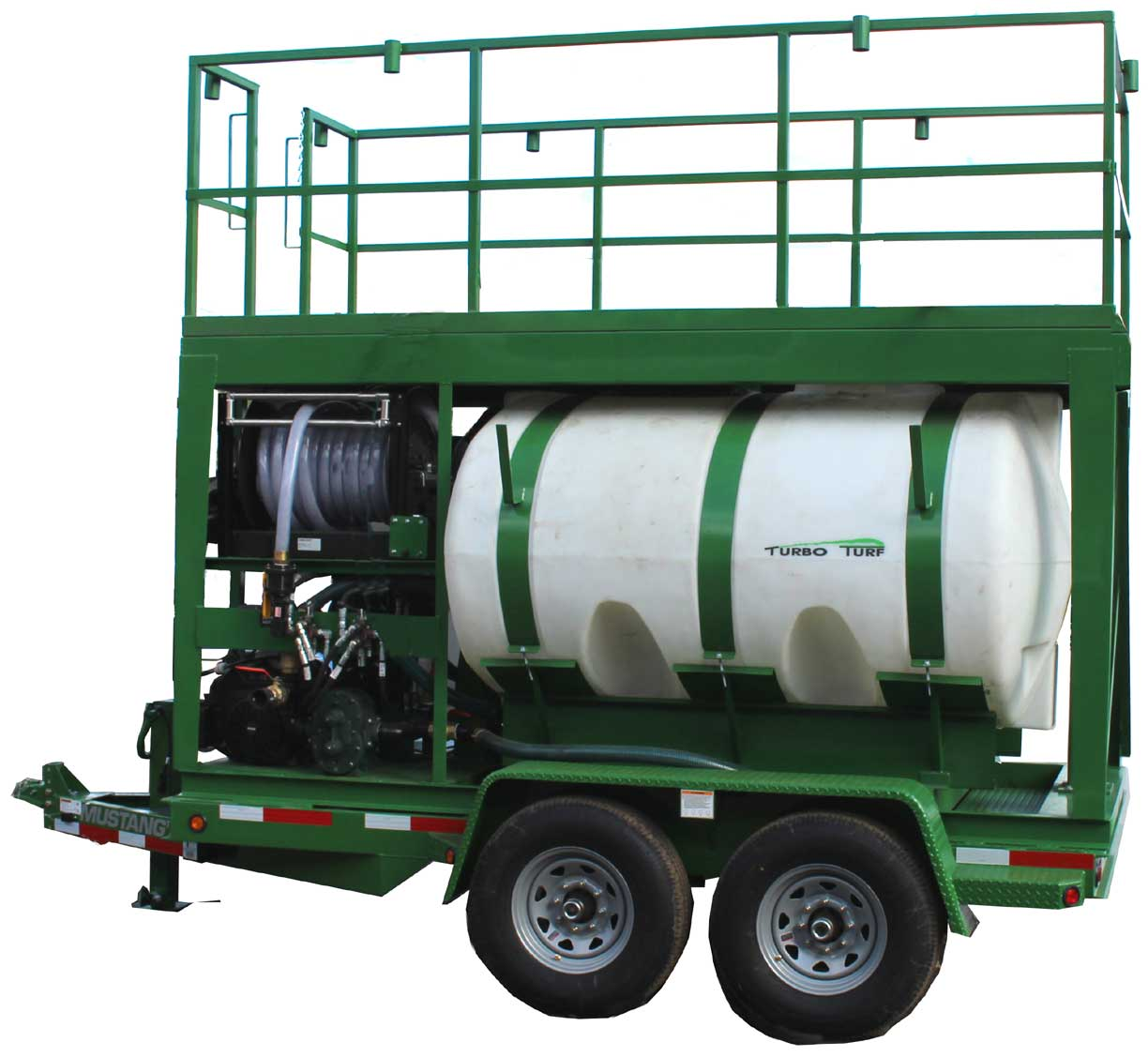 Turbo Turf HM-1000-HARV hydroseeder right side view