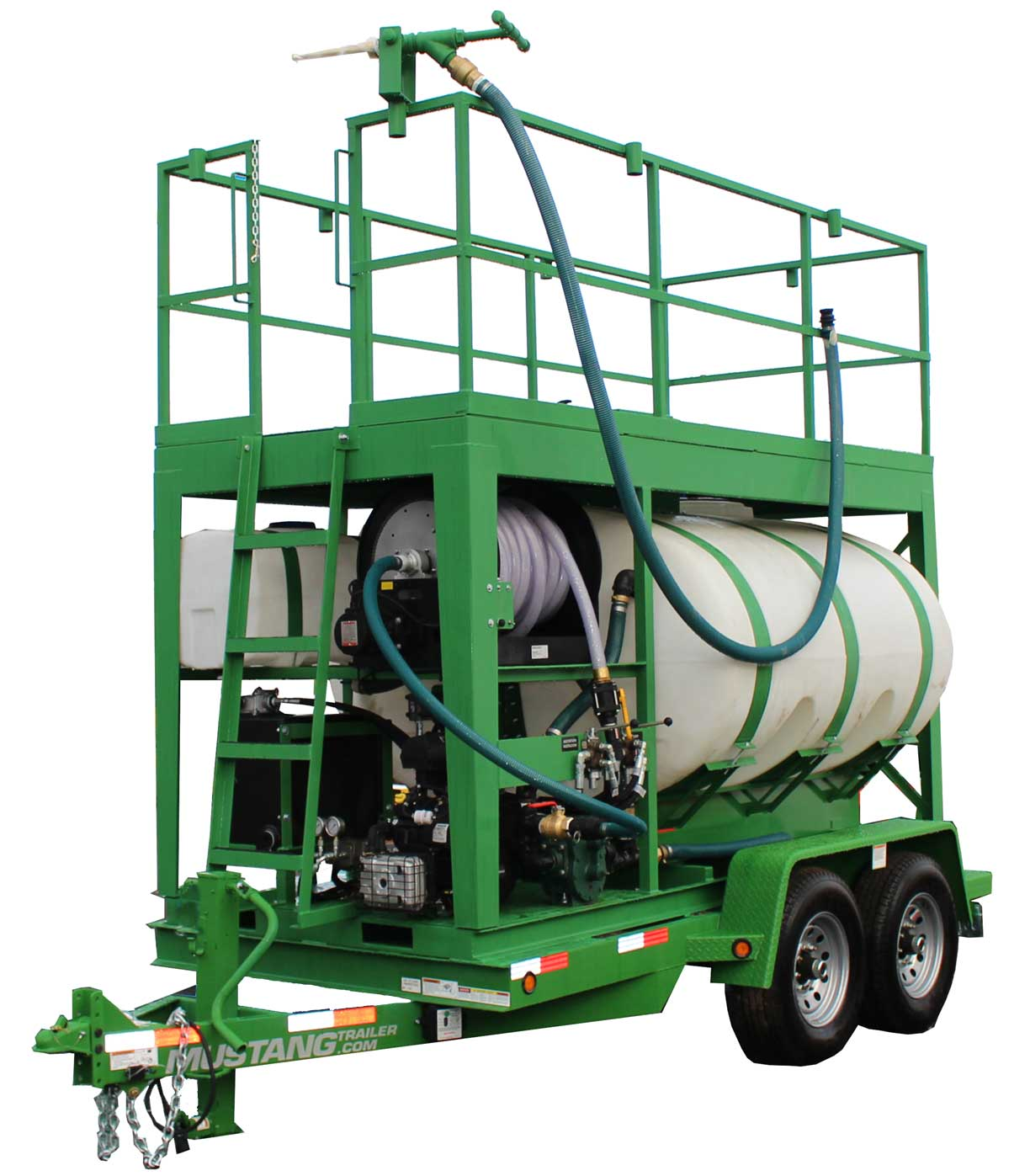 Turbo Turf HM-1000-HARV hydroseeder right front view
