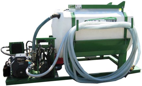 Turbo Turf HM-500-HARV-E Mechanically agitated hydroseeder