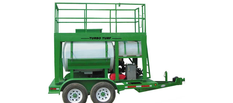 Turbo Turf HM-500-HARV hydraulic drive hydroseeder