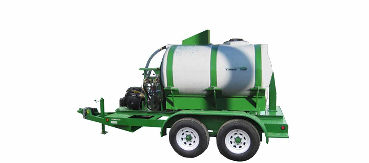 Turbo Turf HM-750-HARV-E-P 750 gallon mechanical hydroseeder
