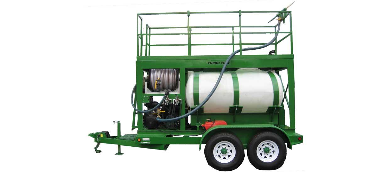 Turbo Turf HM-750-HARV pull type hydroseeder