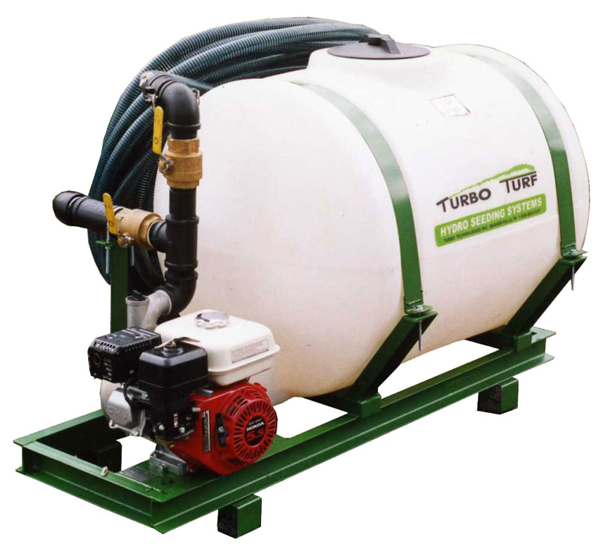 HS-100 Hydroseeder right front view