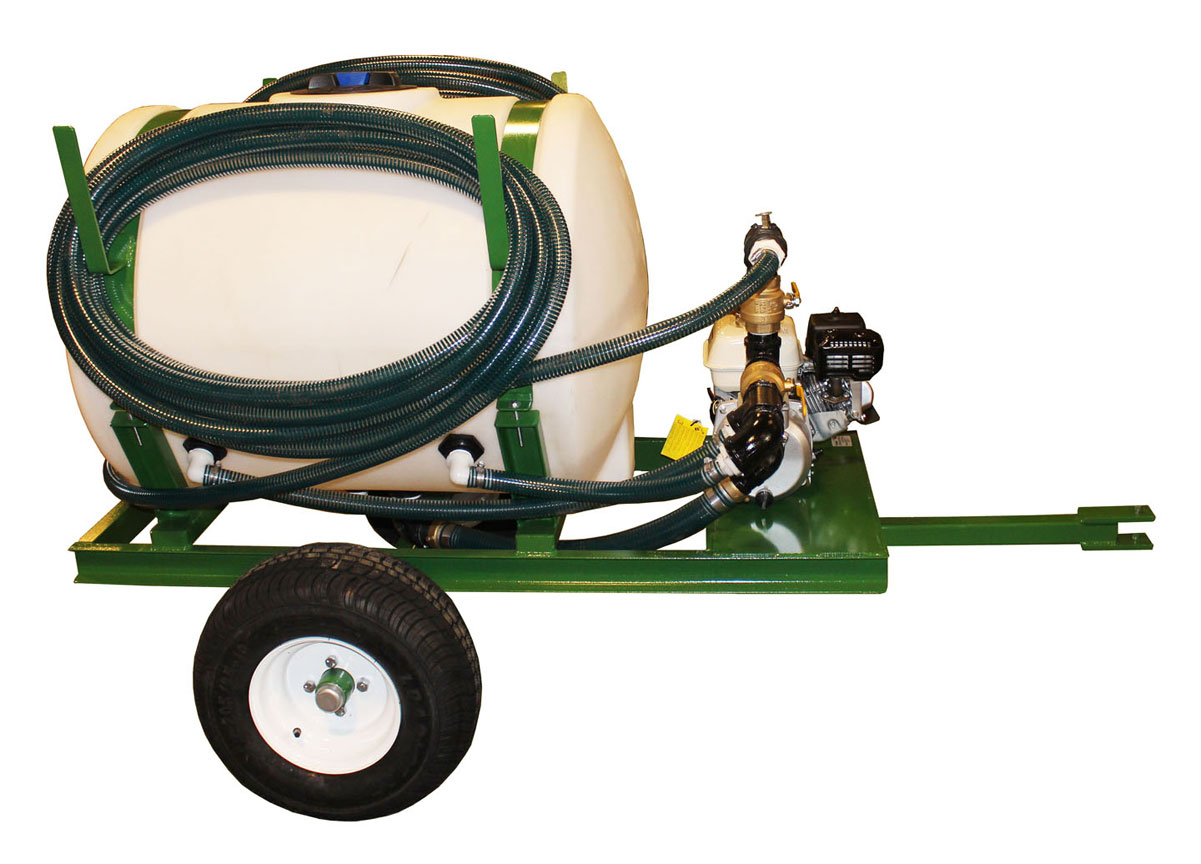 HS-150_P hydroseeder left view