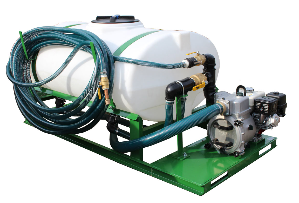 Turbo Turf HS-300-E8 Hydroseeder left front fiew