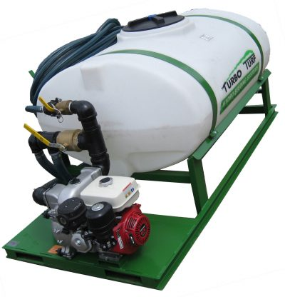 Turbo Turf HS-300--E8 Hydroseeder right front view