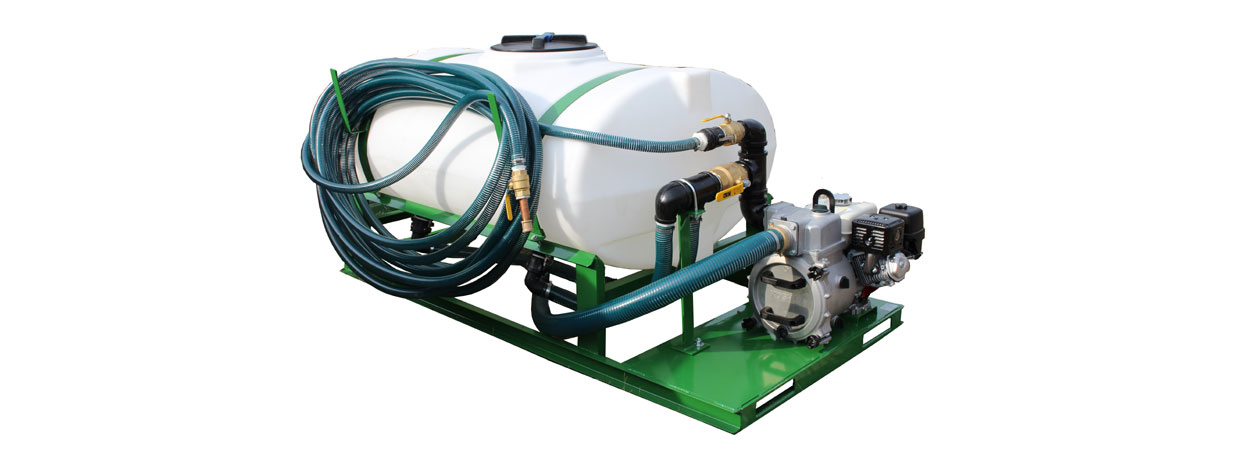 The Turbo Turf HS-750 Hydro Seeder will seed 11,000 sq. ft. per load