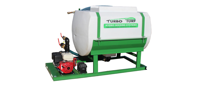 Turbo Turf's HS-500-EH Hydroseeder