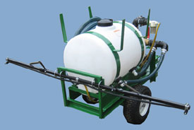 Turbo Turf HS-50-P pull type 50 gallon hydroseeder
