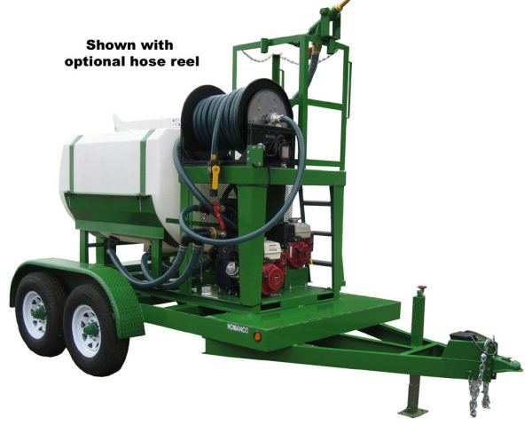 Turbo Turf HY-500-HE-P trailer type hydroseeder