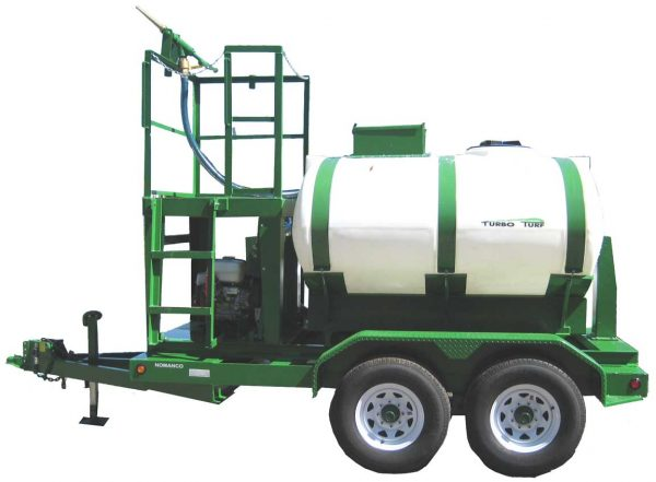 HY-750-HE Turbo Turf Hydroseeder trailer type