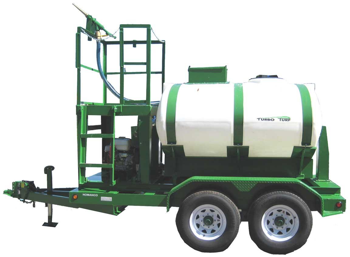 HY-750-HE Turbo Turf Hydroseeder trailer type