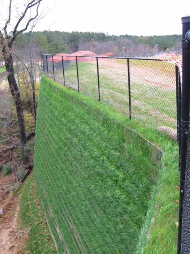 The finished Wall Project in North Carolina