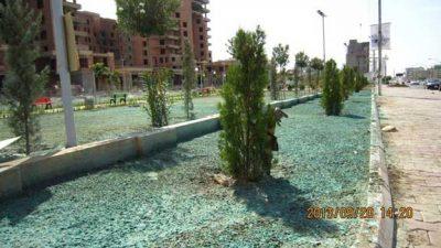 A hydroseeding job in Iraq
