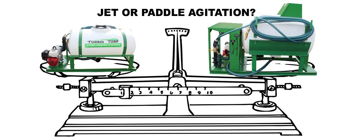 choosing between a jet and paddle agitation