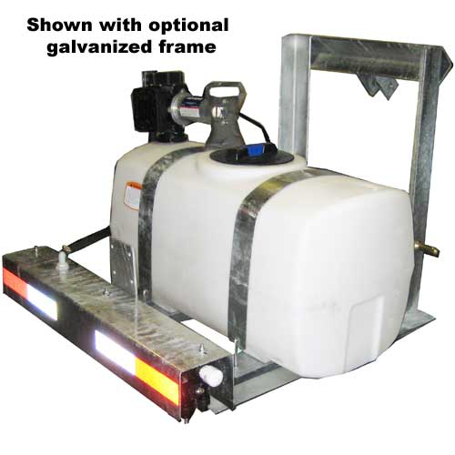 Turbo Turf 100 gallon 2 Point Hitch brine sprayer