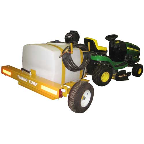 Turbo Turf 50 gallon pull type brine sprayer