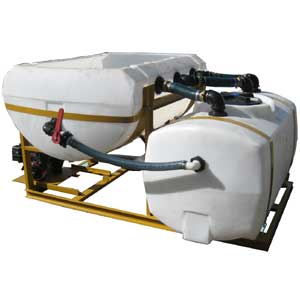 Turbo Turf's BM-450 Brine Maker makes 450 gallons of brine in 25 minutes