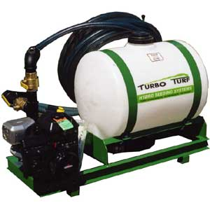 HS-50 Turbo Turf 50 gallon Hydroseeder