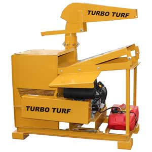 Turbo Turf's TM-20-K Straw Blower