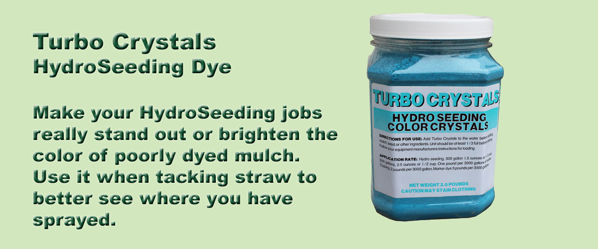 Turbo Tack Hydro Seeding Dye Crystals