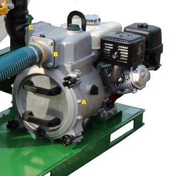 Pump for ?HS-300-E8 hydroseeder