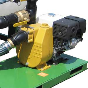 Pump for Turbo Turf EH series hydroseeders