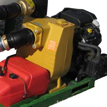 Pump for XPW and ZX series hydroseeders