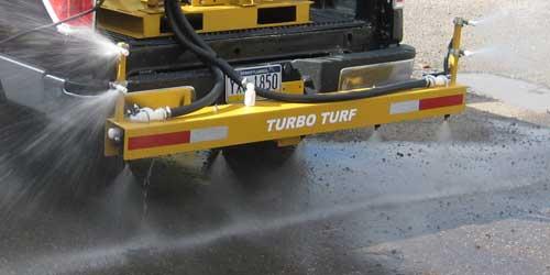 Turbo Turf Ice Control 3 lane boom